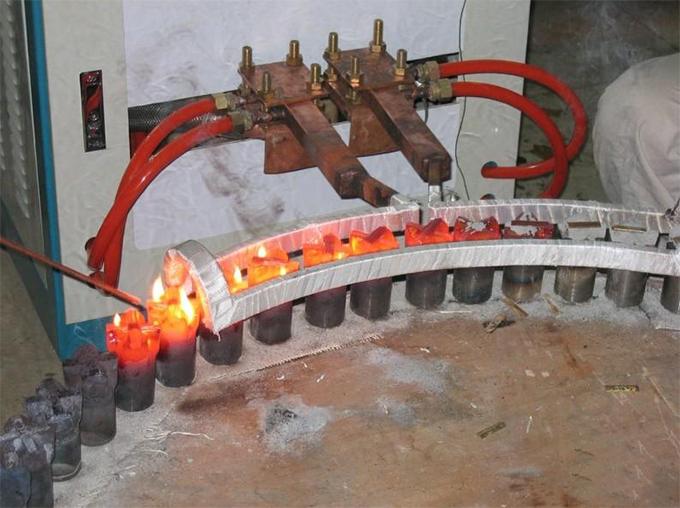 十字型钻头焊接