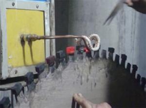 开山石锯片焊接