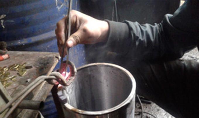 水钻头焊接
